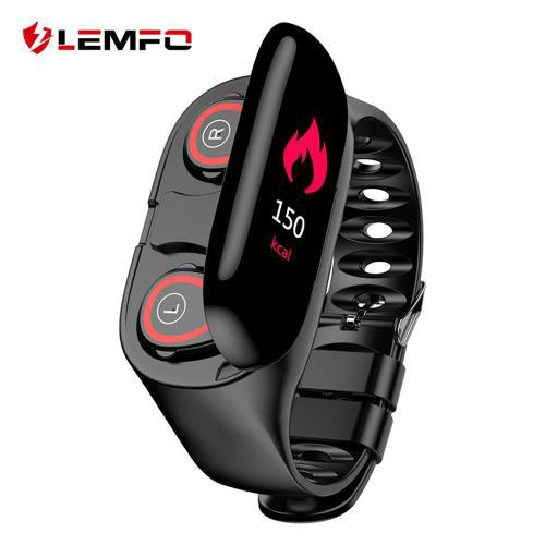 Free shipping** lemfo ai smart watch + bluetooth earphones