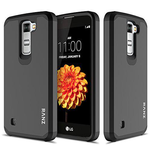 LG K10 Case, LG Premier LTE Case, RANZ Black Hard Impact
