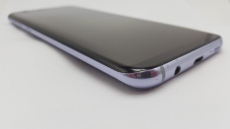 Samsung galaxy s8 plus orchid grey - cracked screen - faulty