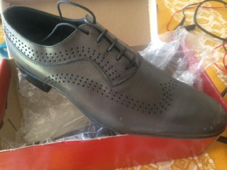 Barker oxford uk7 leather new