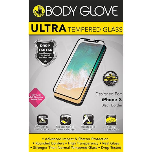 Body Glove Ultra Tempered Protector For iPhone 11 PRO/X/Xs