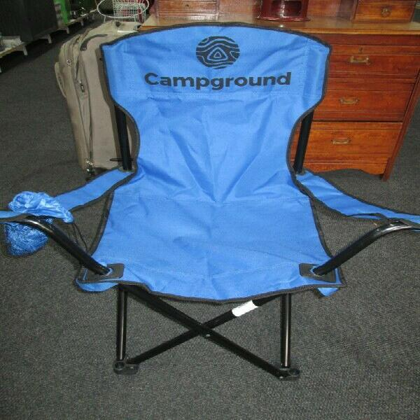 Camping chairs campground