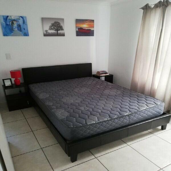 For sale: double bed (r2200), fridge (r1300), 3 x couches