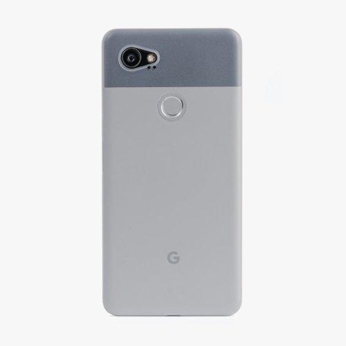 Google pixel 2 premium super thin case silver peel | instock