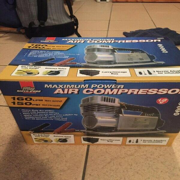Maximum power air compressor - brand new and never used