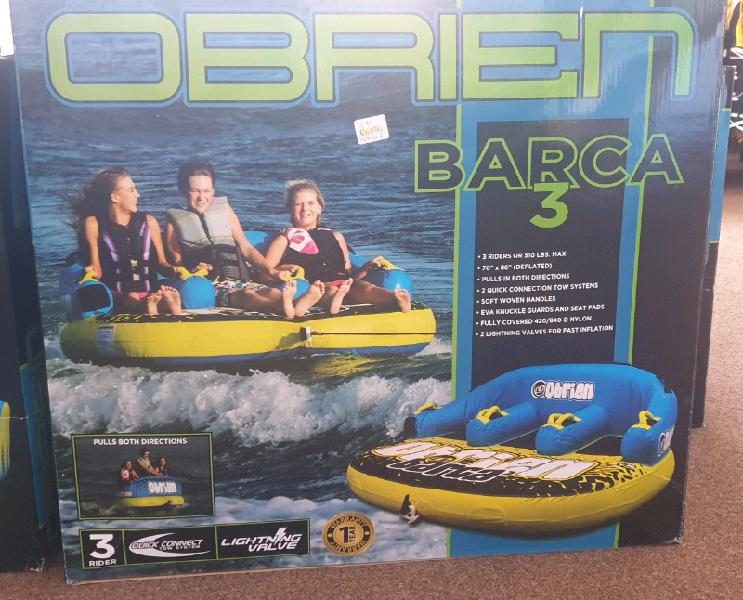 Obrien barca 3 seater tube... brand new. can be delivered