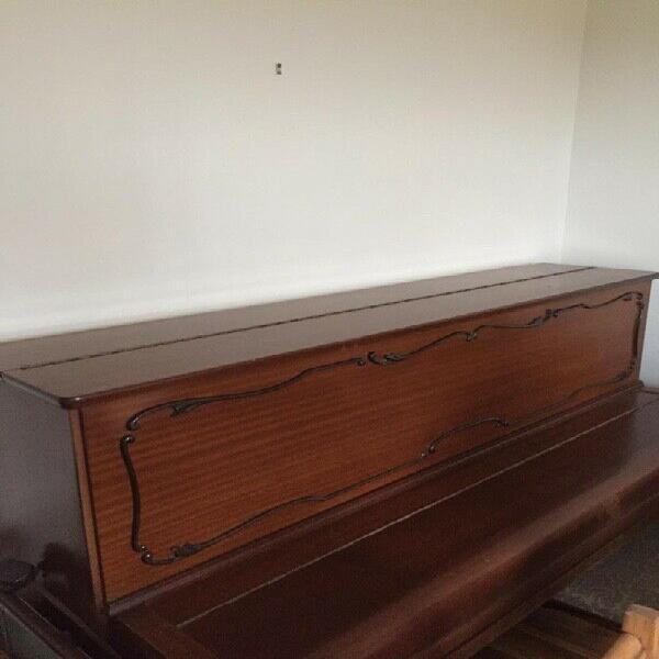 Piano - upright - recently refurbished