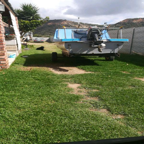 River cabin boat