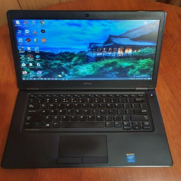 As new dell e5450 14 laptop... 256gb ssd, 8gb ram, i5,