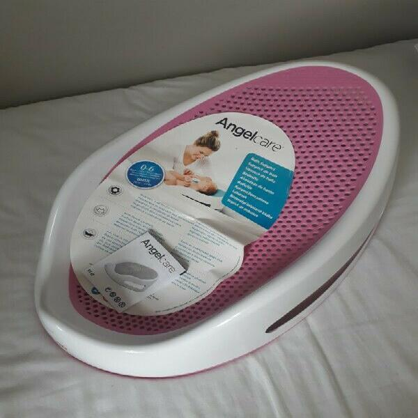 Baby seat, bath, lounger and car pillow