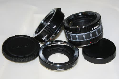 Kenko Digital Macro Extension Tube set for Canon ***with