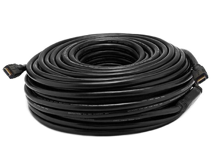 Monoprice 100ft 26AWG CL2 Standard HDMI Cable w/ Built-in