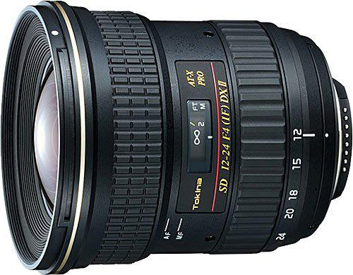 Tokina AT-X PRO SD 12-24mm F4 DX II Aspherical Super Wide