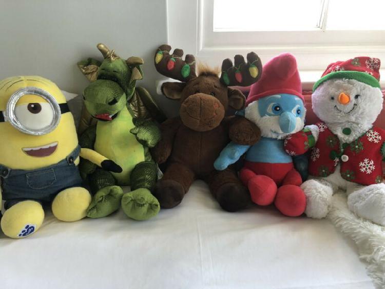 Build-a-bear dolls assorted