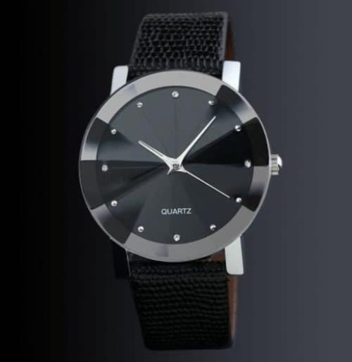 Christmas shopping - paparazzi - mens fashion leather watch