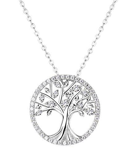 Elda&co the tree of life necklace fine sterling silver