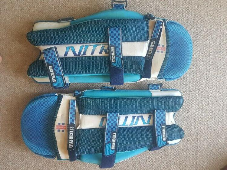 Gray nicolls cricket batting pads nitro