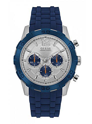 Guess watches men's guess men's blue-silver watch