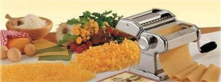 Pasta machine -sheeter spaghetti lasagne