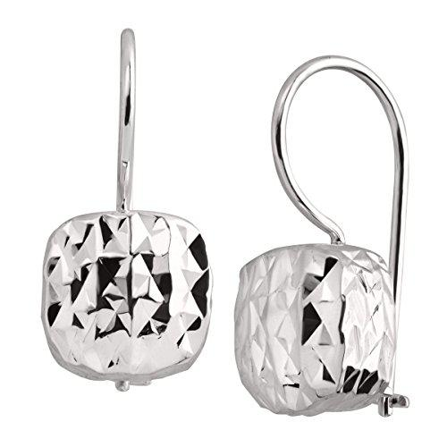 Silpada sterling silver rounded cube drop earrings