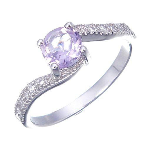 Sterling Silver Amethyst Ring (0.60 CT)