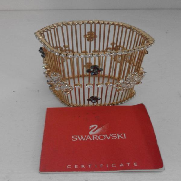 Swarovski gold plated bracelet
