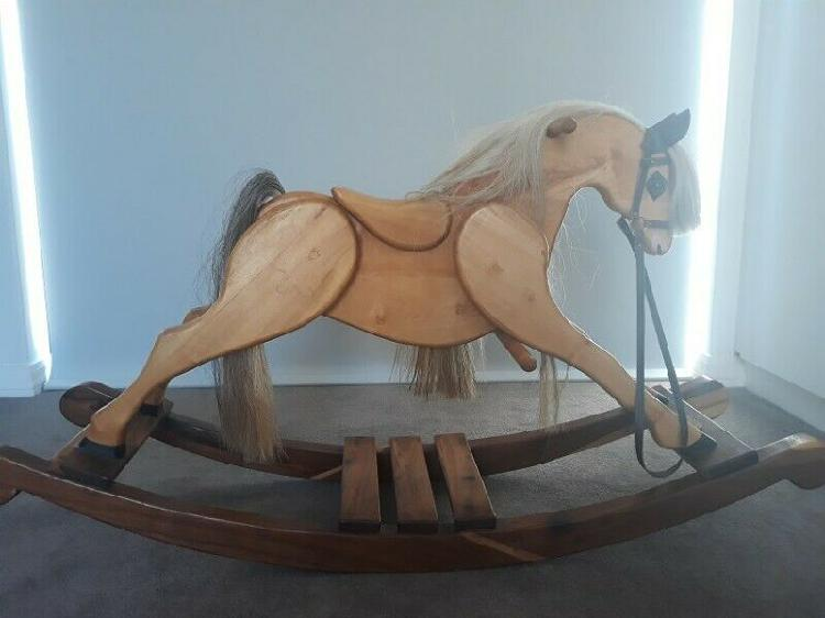 Beautiful hand made rocking horse