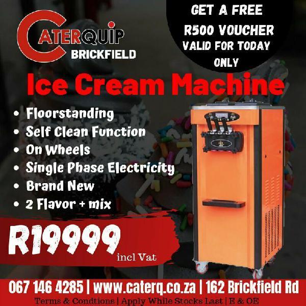 Ice cream machines, ice makers, slush machines for sale