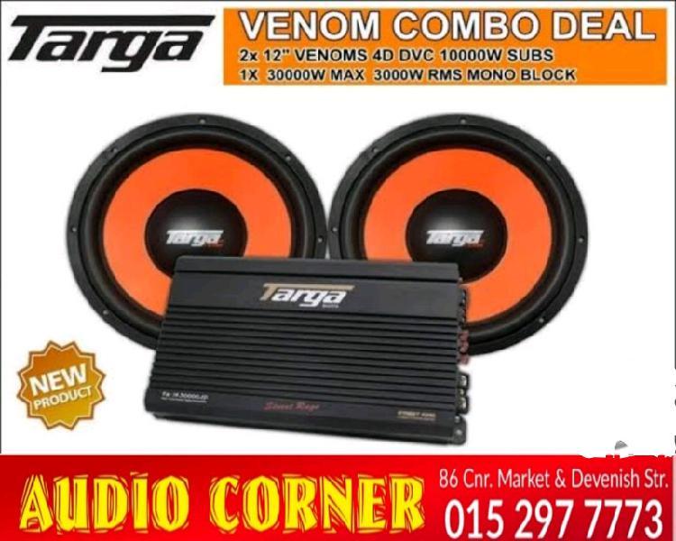 Targa sound combo mega bass with 30000w amp