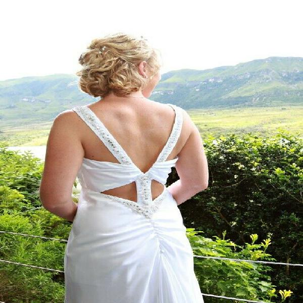 White wedding dress for sale