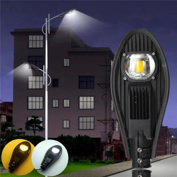 30w led warm white/white road street flood light outdoor