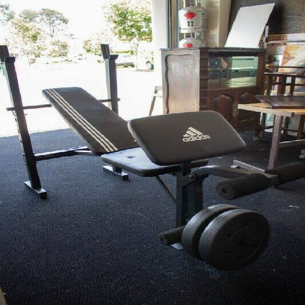 Adidas essential strength weight bench
