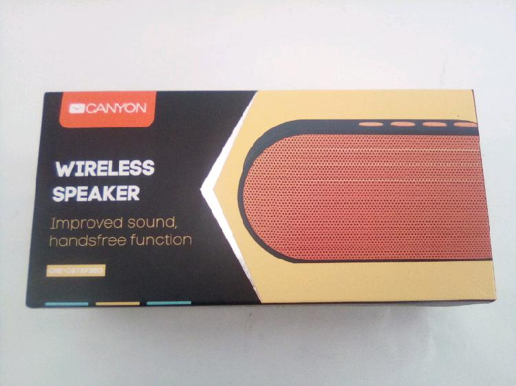 Canyon wireless speakers