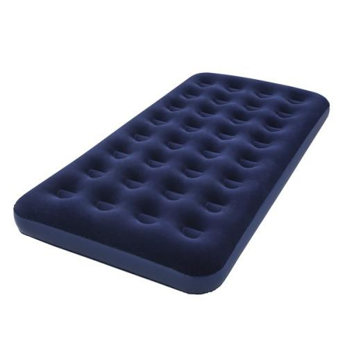 Inflatable flocked air bed - double [second hand]