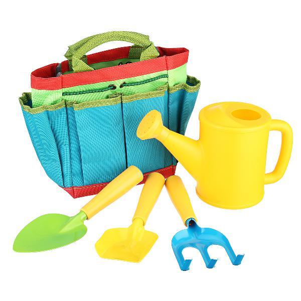 Kids gardening tool sets children garden tool kit bag shovel