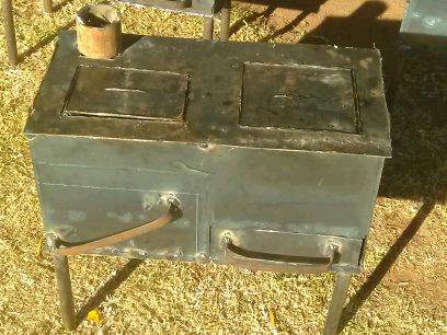 Man made stoves & braai stand