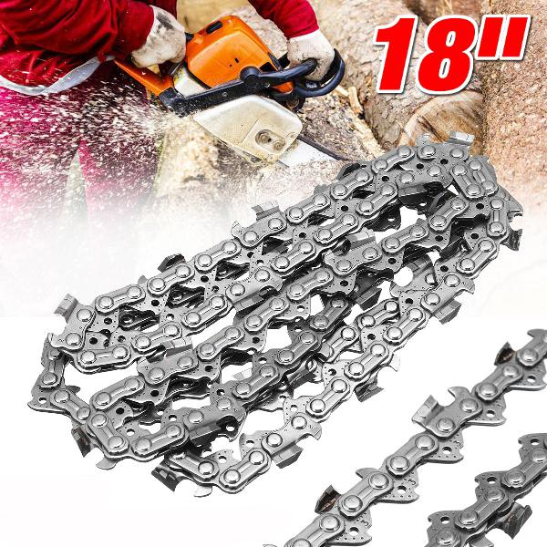 Wood cutting chainsaw alloy saws chain 74 link 18'' bar