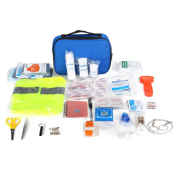 191pcs person portable waterproof first aid kit for family