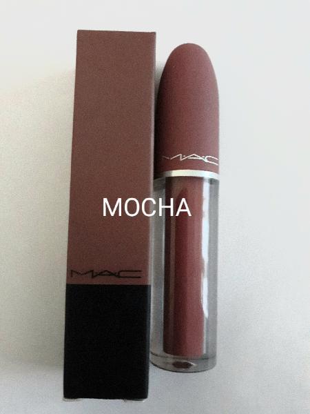 2018 mac liquid matte lipstick - mocha