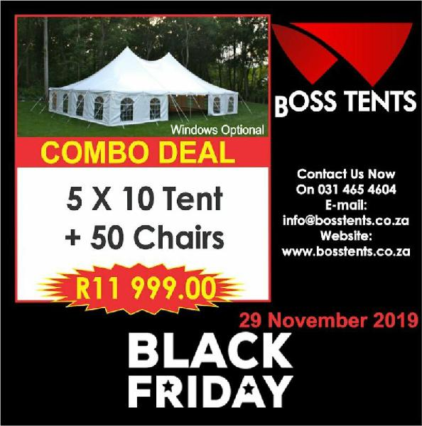Black friday - peg and pole tents for sale