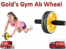 Exercise wheel fitness gold's gym ab