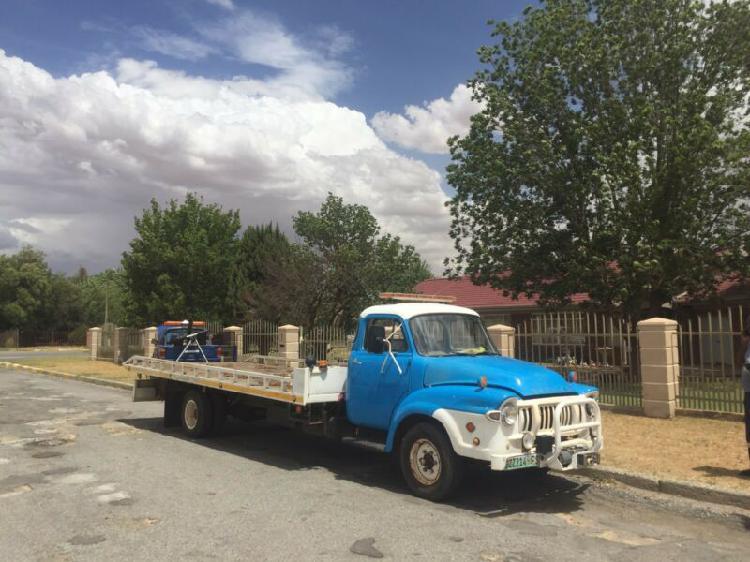 Bedford rollback truck