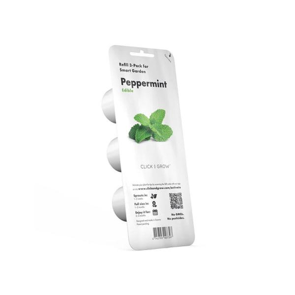Click & grow peppermint seed pod refill for smart garden,