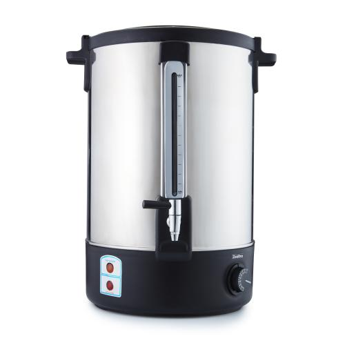 22l stainless steel electric water boiler urn - heat and