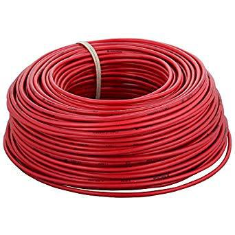 6mm uv resistant solar red cable 100m roll...top