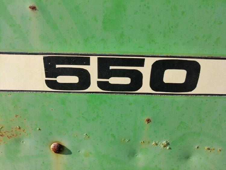 Baler john deere 550