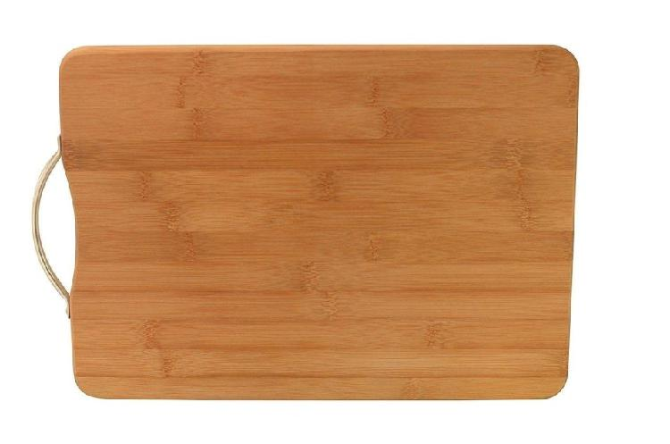 Black friday: rectangular chopping board with stainless