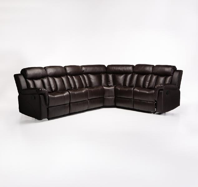 Couches recliner corner lounge suite with console