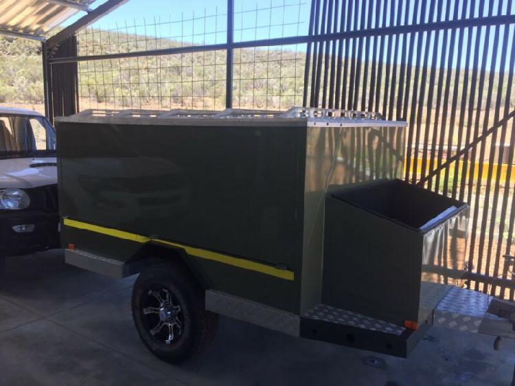 Camping trailer - boswa