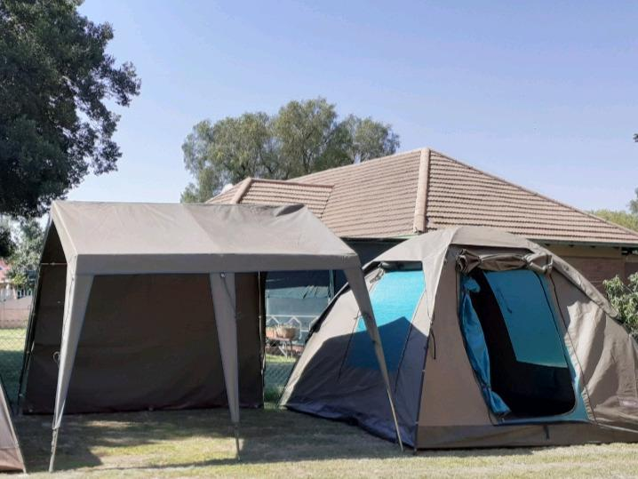 Canvas dome tent & gazebo with side walls